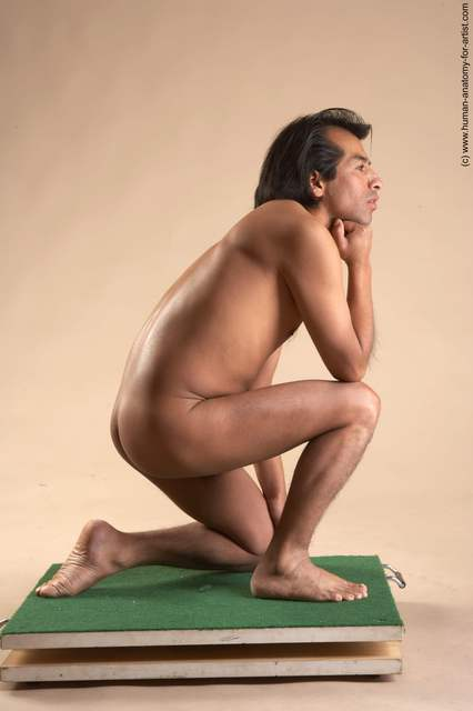 Nude Man Another Slim Short Black Dancing