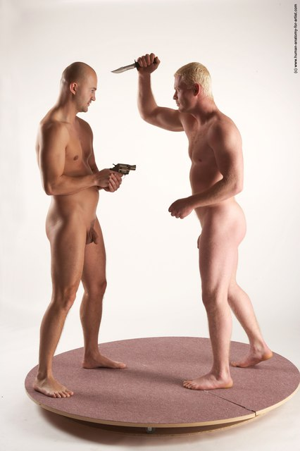 Nude Daily activities Man - Man White Standing poses - ALL Slim Bald Standing poses - simple