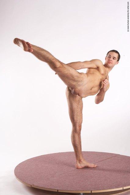 Have naked female martial artist