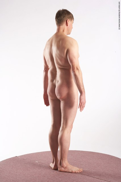 Nude Man White Standing poses - ALL Average Short Grey Standing poses - simple