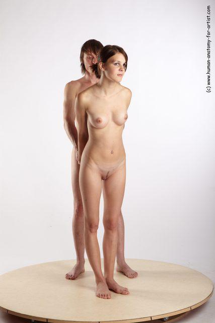 Kvindelige anatomi Nude-9773