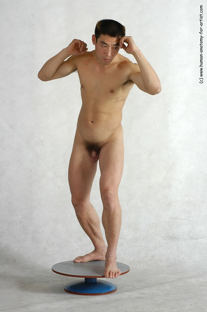 Asian naked martial arts the message