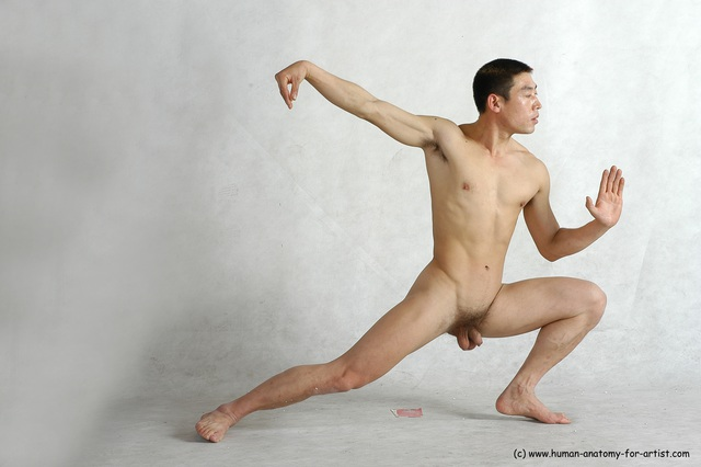 Are Asian naked martial arts here against