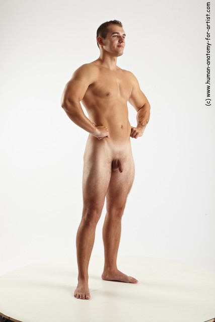 man nude full stand up
