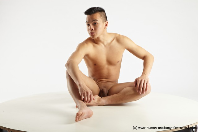 male nude art models asian