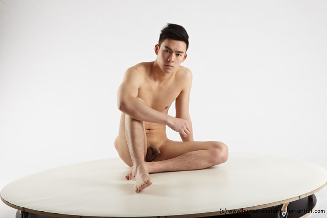 models art asian nude male