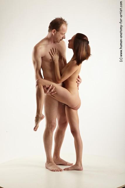 Nude men simple