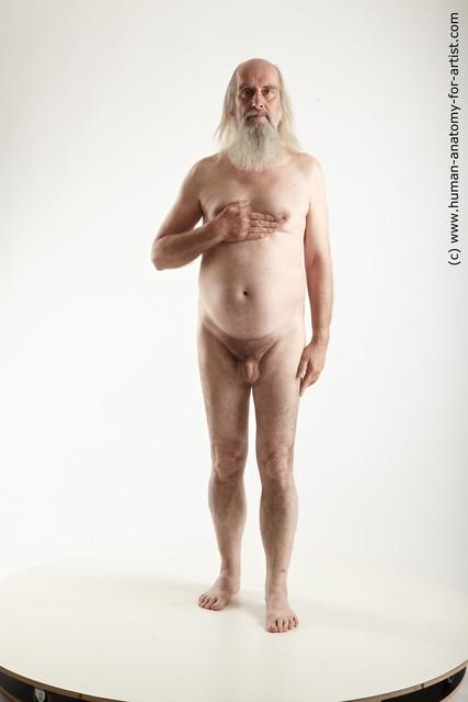 nude long human panis