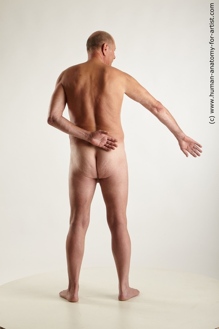 Nude Man White Standing poses - ALL Chubby Short Grey Standing poses - simple Standard Photoshoot