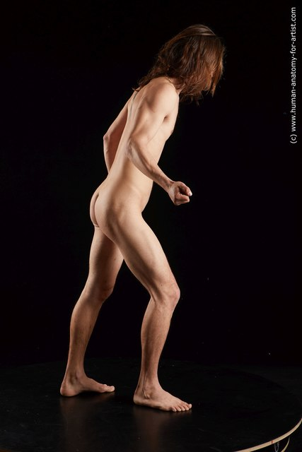 Nude Man White Standing poses - ALL Slim Medium Brown Standing poses - simple Standard Photoshoot