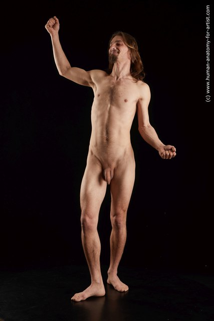 Nude Man White Standing poses - ALL Slim Medium Brown Standing poses - simple Standard Photoshoot
