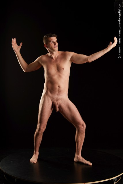 Nude Man White Standing poses - ALL Slim Short Black Standing poses - simple Standard Photoshoot