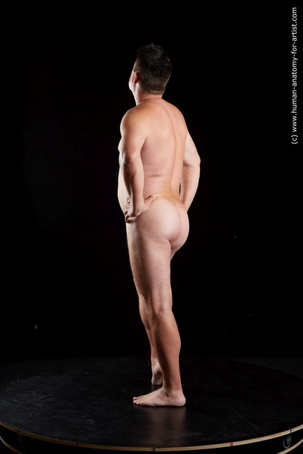 Nude Man White Standing poses - ALL Chubby Short Black Standing poses - simple Standard Photoshoot
