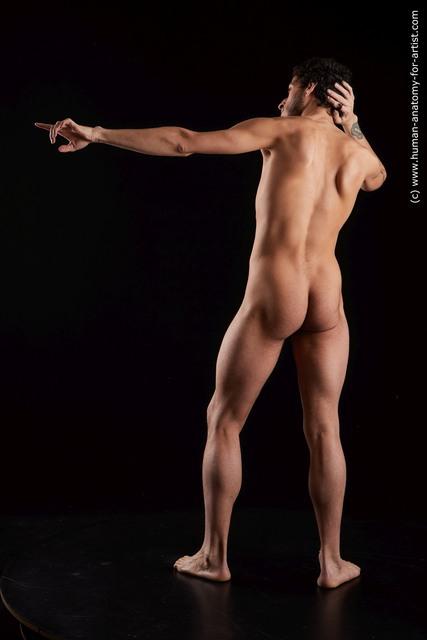 Nude Man Black Standing poses - ALL Slim Medium Black Standing poses - simple Standard Photoshoot