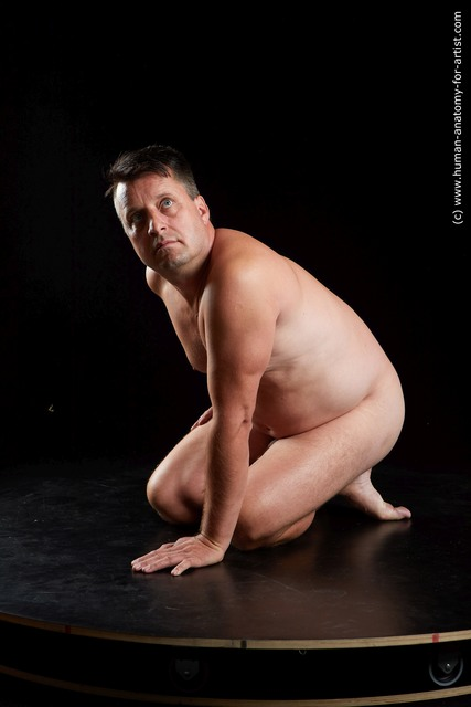Nude Man Standard Photoshoot Chubby