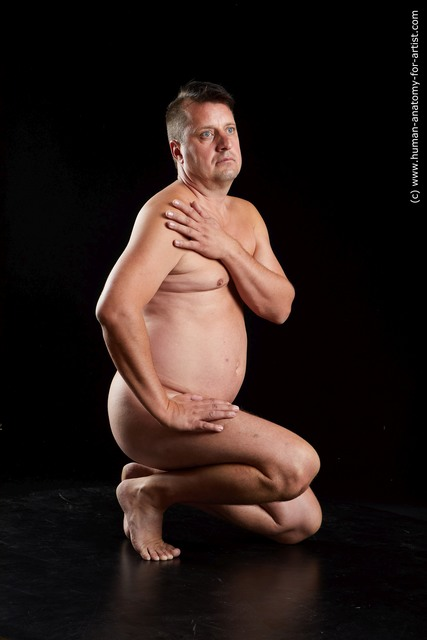 Nude Man Standard Photoshoot Chubby