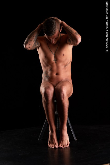 Nude Man Standard Photoshoot