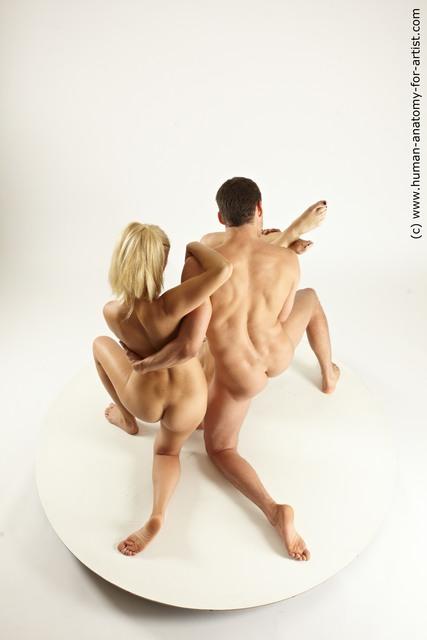 Woman - Man Multi angles poses