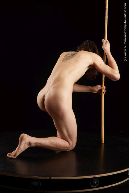 Nude Man Standard Photoshoot