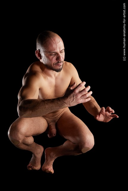 Nude Man Multi angles poses