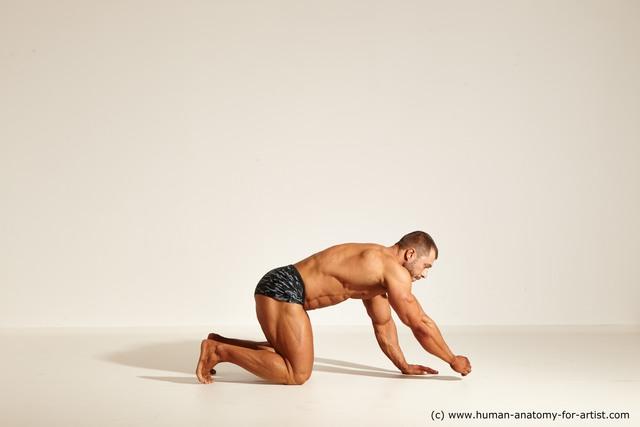 Man Dynamic poses