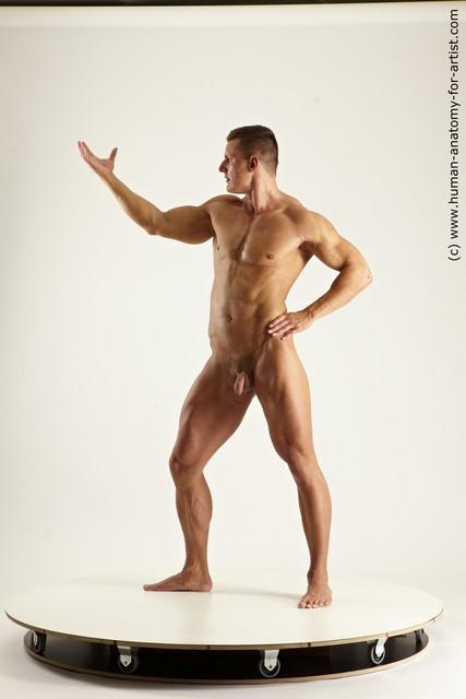 Man Multi angles poses
