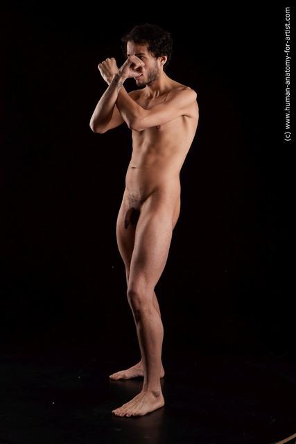 Nude Man Black Standard Photoshoot