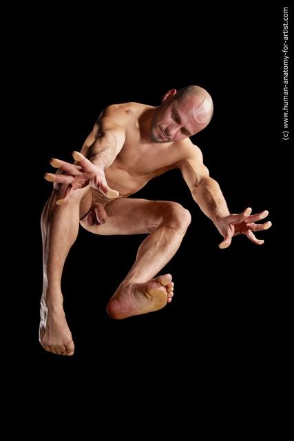 Nude Man Hyper angle poses