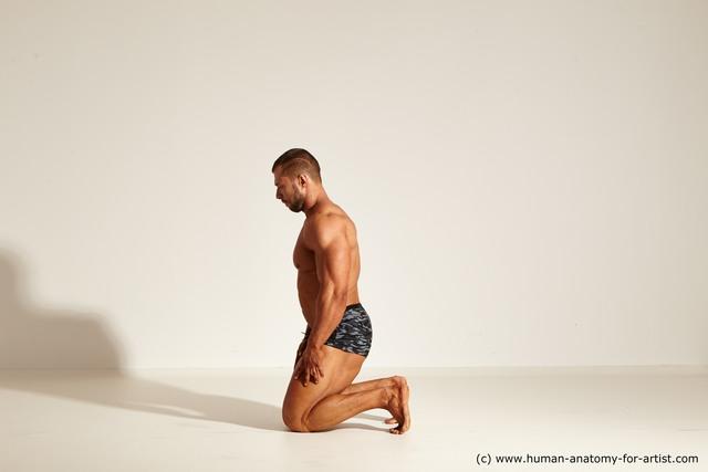 Underwear Man Dynamic poses