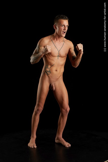 Nude Man White Sitting poses - simple Athletic Short Brown Sitting poses - ALL Standard Photoshoot