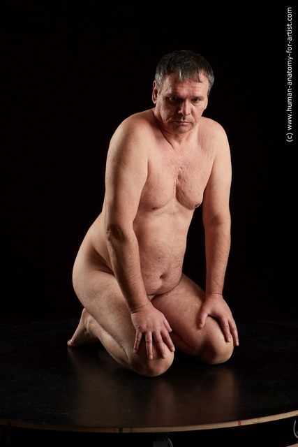 Nude Man Chubby Standard Photoshoot