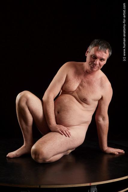 Nude Man Chubby Standard Photoshoot