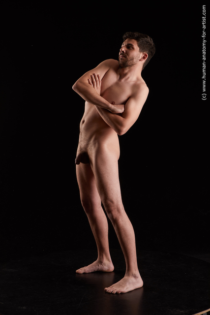 Nude Man White Standing poses - ALL Average Short Black Standing poses - simple Standard Photoshoot