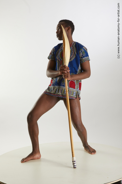 Casual Man Black Slim Short Black Standard Photoshoot
