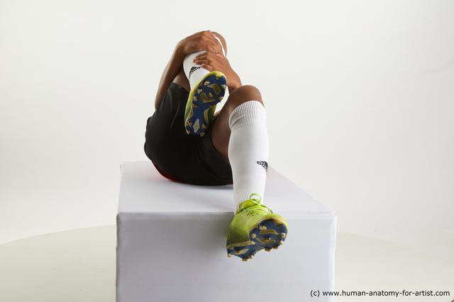 Sportswear Man Black Slim Medium Black Standard Photoshoot