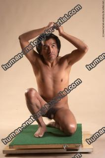 Photo Reference of edwin kneeling pose 79