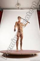Photo Reference of bretislav fighting pose 01c