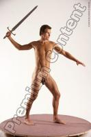 Photo Reference of bretislav fighting pose 09b