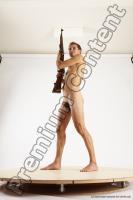 Photo Reference of bretislav fighting pose 07c