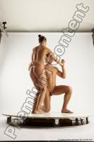 Photo Reference of kneeling reference pose of