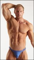 Bodybuilding reference poses of Alberto