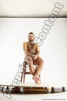 Photo Reference of sitting reference pose of