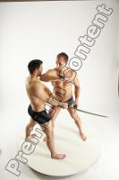 Photo Reference of fighting reference pose of