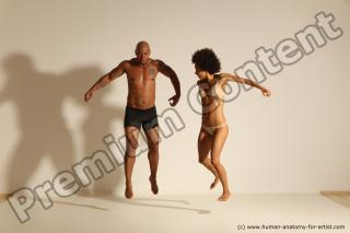 Photo Reference of african dance pose 05