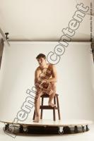 Photo Reference of willbert sitting pose 02