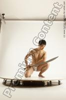 Photo Reference of moses fighting pose 12