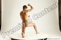 Photo Reference of willbert kneeling pose 03