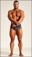 Bodybuilding reference poses of Ramon