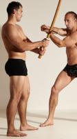 Fighting reference poses Norbert & Radan